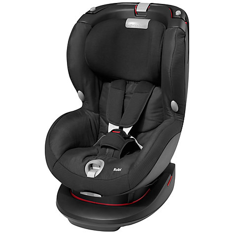 Maxi Cosi Rubi car set - total black